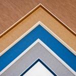 bevel accent samples for custom frames