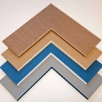 bevel accents for custom frames