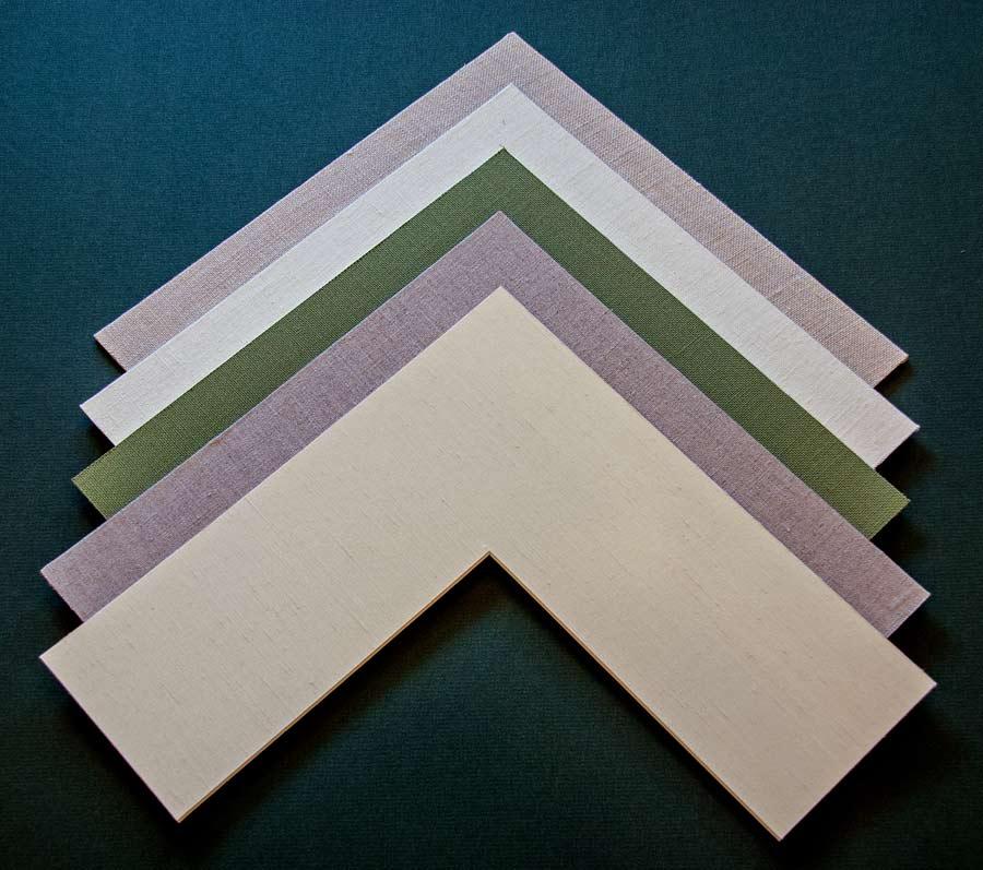 fabric mats for custom frames