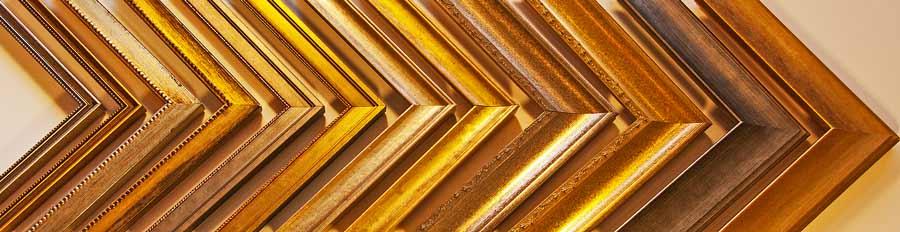 traditional golden custom frame samples