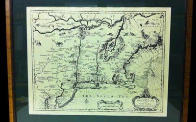 Stunning Map Art Framed or Unframed