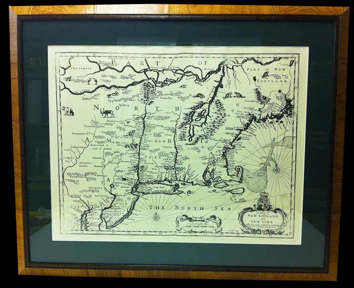 Stunning Map Art Framed or Unframed