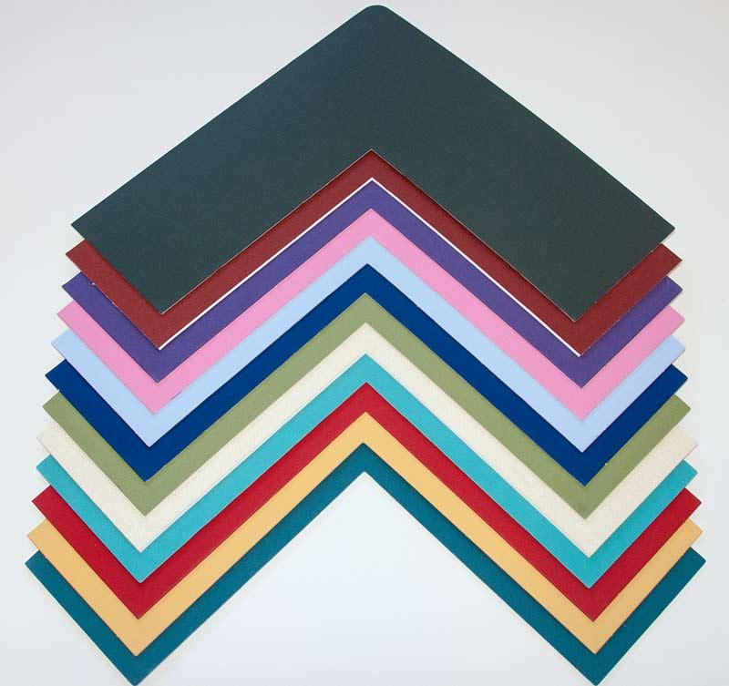 mat samples for custom frames