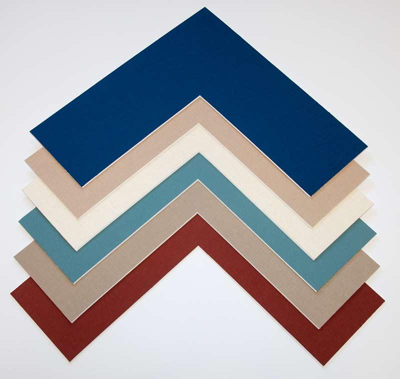 solid color mat frame samples