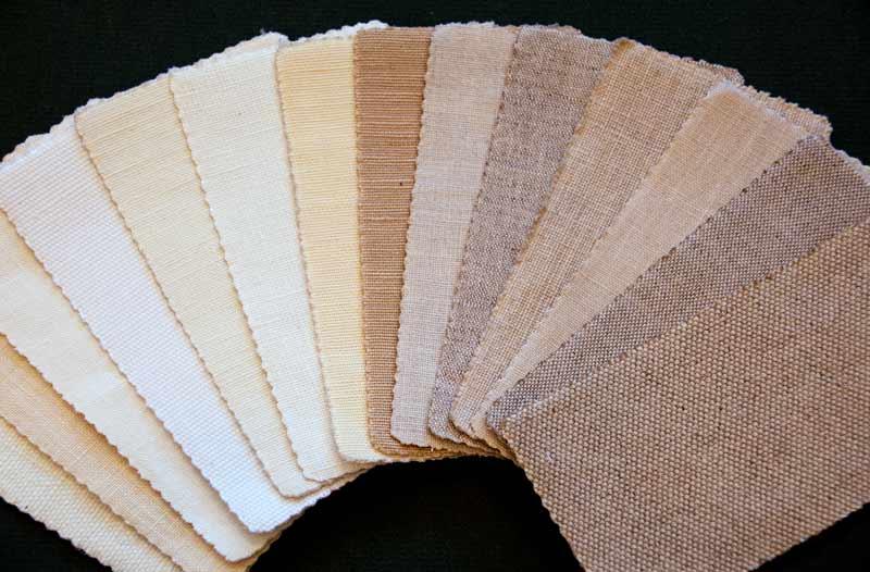 fabric mat samples